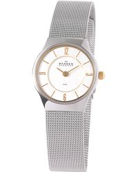 Skagen - 233xsgsc Womens Steel Mesh Bracelet Watch - Lyst