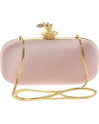 Love Moschino Clutch Bag with Rabbit Clasp - Lyst