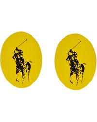 Polo Ralph Lauren | Bright Coloured Polo Pony Cufflinks | Lyst