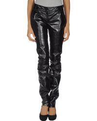 Sophia Kokosalaki - Leather Trousers - Lyst
