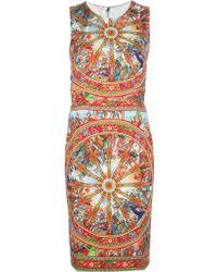 Dolce & Gabbana Sleeveless Dress - Lyst