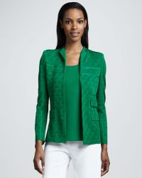 Misook Collection Lilly Textured Jacket - Lyst