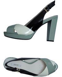 Geox Platform Sandals - Lyst