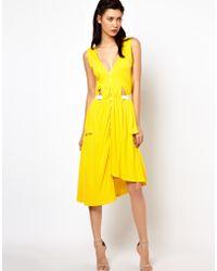Sophia Kokosalaki - Kore By Drape Side Panel Dress - Lyst