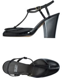 Michel Perry Highheeled Sandals - Lyst