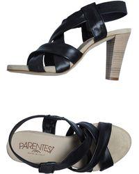 Parentesi High-Heeled Sandals - Lyst