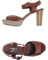 Si By Sinela - Platform Sandals - Lyst