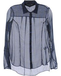 Theyskens' Theory Long Sleeve Shirts - Lyst
