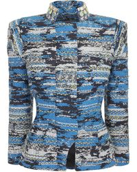 Matthew Williamson Taj Tapestry Nehru Fitted Jacket - Lyst