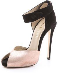 Max Kibardin - Iruwa Peep Toe Suede Court Shoes - Lyst