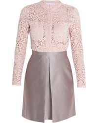 Victoria, Victoria Beckham Lace and Jacquard Dress - Lyst
