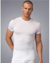 Calvin Klein Crewneck T-Shirt - Lyst