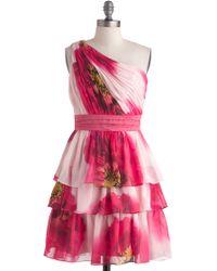ModCloth Botanical Garden Gala Dress - Lyst