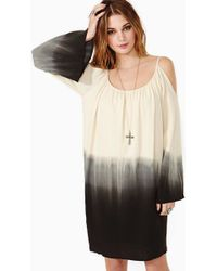 Nasty Gal Faded Desert Dress - Lyst