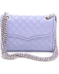 Rebecca Minkoff Quilt Mini Affair Bag purple - Lyst