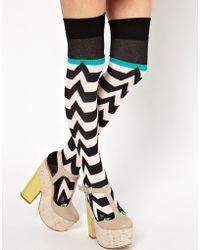 Eley Kishimoto - Cat Over The Knee Socks - Lyst