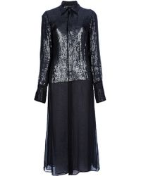 Jean Paul Gaultier Sequined Dress - Lyst