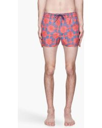 Marc By Marc Jacobs - Sam Scribbled Check Swim Shorts - Lyst