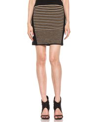 Rag & Bone Ella Skirt in Chinchilla - Lyst