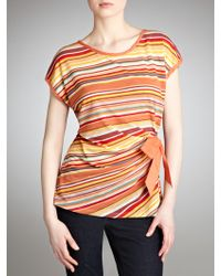 Sandwich - Multistripe Top - Lyst