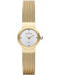 Skagen - Womens Mesh Bracelet Strap Watch - Lyst