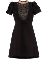 Valentino Shortsleeved Dress - Lyst