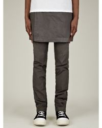 DRKSHDW by Rick Owens Mens Skirt Trousers - Lyst