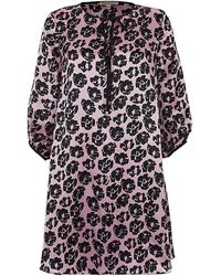 Juicy Couture - Printed Silk Tunic - Lyst