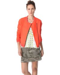April, May - Bono Quilted Leather Jacket - Lyst