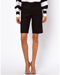 ASOS Collection City Shorts in Linen - Lyst