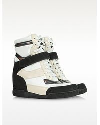 Marc By Marc Jacobs High Top Sneaker Wedge - Lyst