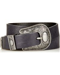 Topshop Traditional Western Belt - Lyst