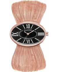 Valentino - Seduction Rose Gold Watch - Lyst