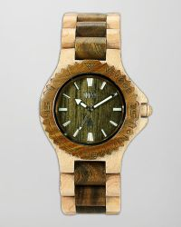 WeWood - Date Maple Guaiaco Wood Watch - Lyst