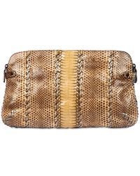 Bottega Veneta Ayers and Cobra Clutch - Lyst