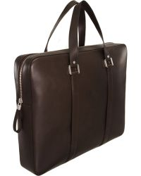 Delvaux - Newspaper Briefcase - Lyst