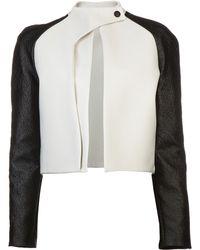 Mugler Twotone Jacket - Lyst