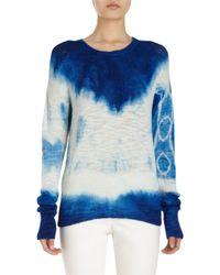 Raif Adelberg - Tie Dye Sweater - Lyst