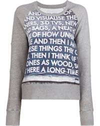 Each x Other - Robert Montgomery Sweatshirt - Lyst