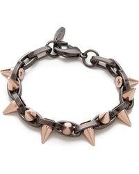 Joomi Lim - Metal Luxe Spike Bracelet - Lyst