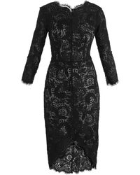 Lover Horizon Shapedhem Lace Dress - Lyst