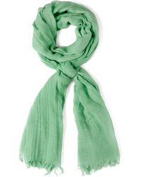 ModCloth Milan The Go Scarf in Sage - Lyst