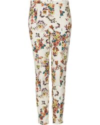 Topshop Pixelated Highwaist Trousers multicolor - Lyst
