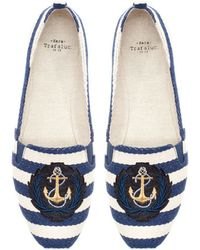 Zara Nautical Stripe Jute - Lyst