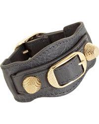 Balenciaga Arena Giant Gold Bracelet - Lyst