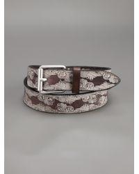 Andrea Zori - Textured Belt - Lyst