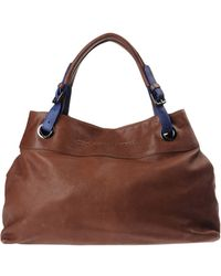 C'N'C Costume National Large Leather Bag - Lyst