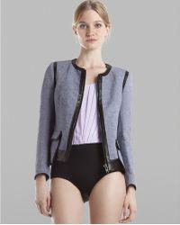 Sandro - Bodysuit Edith Sleeveless - Lyst
