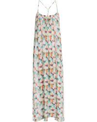 Paul & Joe Mosaic Print Maxi Dress - Lyst