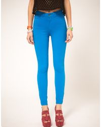 American Apparel |  Coloured High Waist Jeans | Lyst